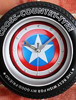 Moderne/Contemporain Bureau / Affaires Niches Ecole/Diplôme Amis Horloge murale,Nouveauté Métal Gel de silice Autres Intérieur Horloge
