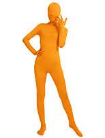 Unisex Lycra Spandex Unitard Full Body Long Sleeves Full Fingers Full Foot Elastane Bodysuit Zentai Costume