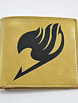 Fashion Men's Fairy Tail Change Purses PU All Seasons Daily Casual Party & Evening Baguette Without Zipper