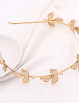 The New Tree Leaves the First Hoop Hair Hoop Baroque Gold Bride Headdress Hair Ornaments 1pcs