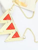Femme Pendentif de collier Colliers chaînes Bijoux Forme Géométrique AlliageBasique Original Logo Pendant Amour Cœur Géométrique Amitié