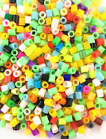 Approx 1200PCS/Bag 5MM Mixed Random Multi-Color Hama Perler Bead Fuse Beads Kid DIY Handmaking Educational Craft Toys Jigsaw Puzzle EVA Safty Material