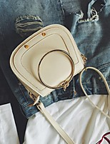 Ladies' fashion runway looks circle saddle bag shoulder his laptop bags