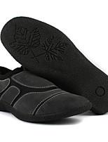 Men's Sneakers Comfort Suede Spring Casual Dark Grey Flat