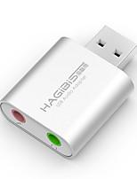 Hagibis usb carte son externe ordinateur portable ordinateur de bureau indépendant convertisseur casque externe professionnel lecteur