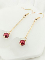 Korean Style Fashion Personality Petals Bead Long Earrings Women's Party Drop Earrings Movie Jewelry
