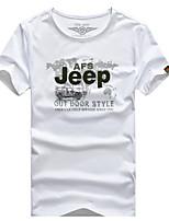 Homens Camiseta Ciclismo de Lazer Outros Casual Verão