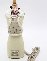 Harness Leash Adjustable Flower/Floral Fabric