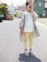 Girls' Stripe Pants Summer Fall
