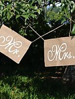 Decoração cerimônia-2piece / Set Casamento Festa Ocasião Especial Noivado