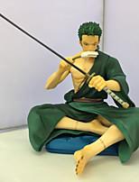 Anime Actionfigurer Inspirerad av One Piece Roronoa Zoro PVC 13 CM Modell Leksaker Dockleksak