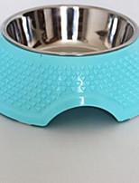 Dog Feeders Pet Bowls & Feeding Portable Blushing Pink Blue Green