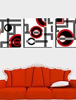 Art Print Abstract Modern Three Panels Horizontal Print Wall Decor For Home Decoration