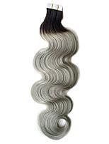 На ленте Расширения человеческих волос Наращивание волос
