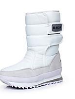 Women's Boots Comfort Fabric Spring Casual Comfort Burgundy Fuchsia White Flat