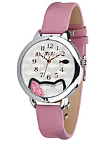Women's Fashion Watch Quartz Leather Band Black Brown Pink