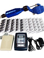 High Level Tattoo Kit Zebra With Digital Power Cord Inks Switch G1I164-A1