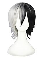 Dangan Ronpa-Monokuma Black&White 14inch  Cosplay Wigs CS-117A