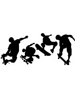 Wall Stickers Wall Decas Style Skater Boy PVC Wall Stickers