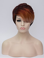 Europe and the United States Wig Black Hair Dye Short Hair Fashion Hair Wig 6inch