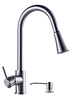 Contemporary Centerset Ceramic ValveKitchen faucet