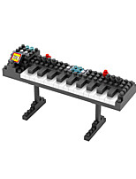 Building Blocks For Gift  Building Blocks Model & Building Toy Piano Plastic Toys