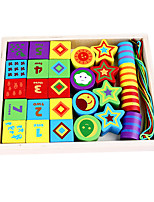 Educational Toy For Gift  Building Blocks Model & Building Toy Wood 2 to 4 Years 5 to 7 Years Toys