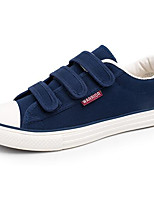 Men's Sneakers Comfort Canvas Spring Casual Black Blue Flat
