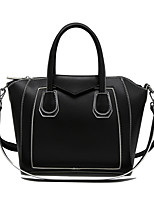 Women Tote PU All Seasons Formal Casual Event/Party Wedding Office & Career Hobo Clasp Lock Black