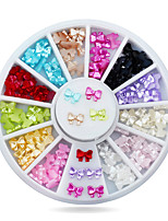 New Resin Butterfly 3d Nail Art Decoration Mix Color DIY Beauty Nail Accessories
