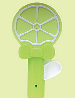 Creative Lemon Hand-held Cartoon Mini-Fan Student Hand-Handled Soft-leaf Fan Children's Toy Small Fan