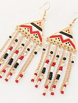 Drop Earrings Women's Girls' Earrings Set Bohemian Elegant Delicate Measle Tassel Friendship Party Daily Casual Movie Jewelry
