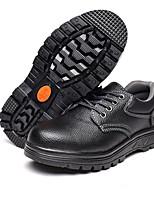 муж. Кеды Наппа Leather Лето Осень На низком каблуке Черный Черный/Желтый Менее 2,5 см