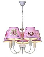 Luzes Pingente ,  Contemprâneo Tradicional/Clássico Pintura Característica for LED MetalSala de Estar Quarto Sala de Jantar Quarto de
