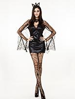 Косплэй Kостюмы Bats Животный принт Косплей из фильмов Хэллоуин Карнавал Новый год Женский Терилен