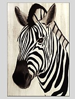 Oil Paintings Zebra Style Canvas Material With Wooden Stretcher Ready To Hang Size60*90CM and 50*70CM .