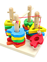 Building Blocks Pegged Puzzles Fishing Toys For Gift  Building Blocks Leisure Hobby Wood 2 to 4 Years Toys