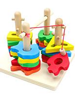 Конструкторы Игры с последовательностью Рыболовные игрушки Для получения подарка Конструкторы Хобби и досуг Дерево 2-4 года Игрушки