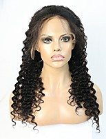 Deep Body Wave Human Hair Lace front Wig With Illusion Natural Hairline