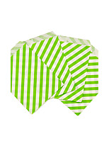 25pcs Chevron Favor Bags Candy Bags/Wedding Favors/Goody Bags/Printed Paper Treat Bags/Birthday Party Sacks Light Green
