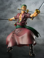 Anime Action Figures Inspired by One Piece Roronoa Zoro PVC 23 CM Model Toys Doll Toy 1pc