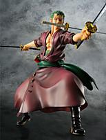 Figure Anime Azione Ispirato da One Piece Roronoa Zoro PVC 23 CM Giocattoli di modello Bambola giocattolo