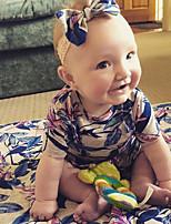 малыш 1 предмет Хлопок Мода Цветочный принт Винтаж Лето ½ Пант