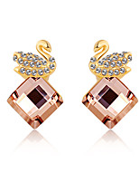 Women's Earrings Jewelry Euramerican Fashion Personalized Crystal Alloy Jewelry Jewelry For Wedding Party Anniversary 1 Pair