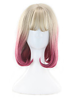Color Mixed  Fashion Lolita Cosplay Party Wigs Lovely Style Heat Synthetic Natural Looking Hairstyle WIgs