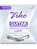 Ziko Acoustic Guitar Strings Set DUS012 Silver Plating 6 Strings For Acoustic Guitar Parts Musical Instruments