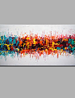 Modern Hand-Painted Abstract  Oil Painting Ready To Hang For Home Decoration