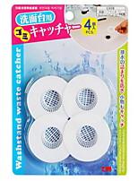 4pcs per Set Filter Drain Stoppers PP Bath Caddies