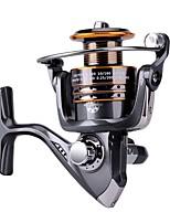 Carrete de la pesca Carretes para pesca spinning Carrete para pez carpa Carrete para pesca en hielo 5.2:1 13 Rodamientos de bolas