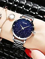 Women's Fashion Watch Quartz Alloy Band Silver Gold